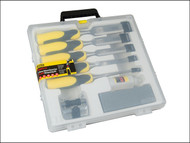 Stanley Tools STA516421 - Dynagrip Chisel + Strike Cap Set of 5 + Access
