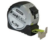 Stanley Tools STA533891 - FatMax Tape Measure 8m/26ft (Width 32mm)