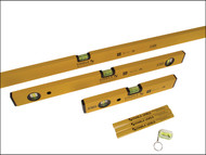 Stabila STB702COMBI - 70-2 Double Plumb Spirit Level Pack 30cm, 60cm & 180cm