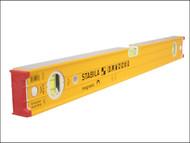 Stabila STB96M248 - 96-M-2 Magnetic Spirit Level 3 Vial 122cm