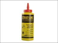 IRWIN Strait-Line STL64902 - Chalk Refill 227g (8 oz) Red