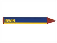 IRWIN Strait-Line STL666012 - Crayons (Card 2) Red