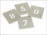 Stencils STNF2W - Set of Zinc Stencils - Figures 2in Walleted