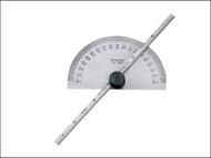 Starrett STRC493ME - C493ME Protractor & Depth Gauge 150mm (6in)