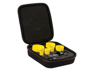 Starrett STRKFC06023 - KFC06023 Bi-Metal Fast Cut General Purpose Holesaw Kit