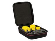 Starrett STRKFC07021 - KFC07021 Bi-Metal Fast Cut Plumbers Holesaw Kit