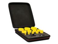 Starrett STRKFC12021 - KFC12021 Bi-Metal Fast Cut Plumbers/Electricians Holesaw Kit