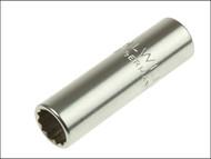 Stahlwille STW40ADL716 - Bi-Hexagon Socket Extra Deep 1/4in Drive 7/16in