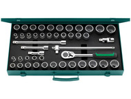 Stahlwille STW50MA396N - Socket Set of 45 Bi-Hexagon AF / Metric