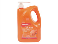Swarfega SWASOR4LMP - Orange Hand Cleaner Pump Top Bottle 4 Litre