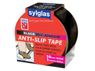 Sylglas SYLASTBL - Anti-Slip Tape 50mm x 3m Black