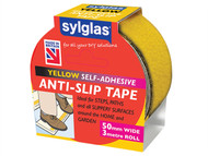 Sylglas SYLASTY - Anti-Slip Tape 50mm x 3m Yellow