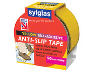 Sylglas SYLASTY18 - Anti-Slip Tape 50mm x 18m Yellow