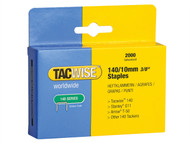 Tacwise TAC0347 - 140 Heavy-Duty Staples 10mm (Type T50, G) Pack 2000