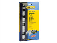 Tacwise TAC0350 - 140 Heavy-Duty Staples (Type T50, G) Selection Pack 4400