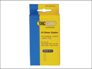Tacwise TAC0768 - 91 Narrow Crown Staples 40mm - Electric Tackers Pack 1000