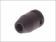 Teng TEN920512 - Impact Socket Hexagon 6 Point 1/2in Drive 12mm
