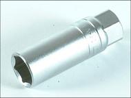 Teng TENM120046 - Spark Plug Socket 1/2in Drive 21mm