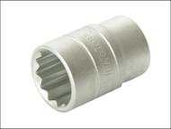 Teng TENM120112 - Bi-Hexagon Socket 12 Point Regular A/F 1/2in Drive 3/8in