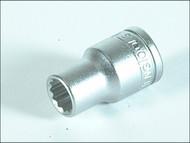 Teng TENM120124 - Bi-Hexagon Socket 12 Point Regular A/F 1/2in Drive 3/4in