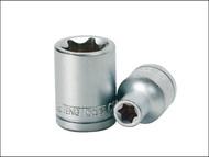 Teng TENM120720 - Torx S2 Socket 1/2in Drive E20