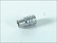 Teng TENM140110 - Hexagon Socket 6 Point Regular AF 1/4in Drive 5/16in