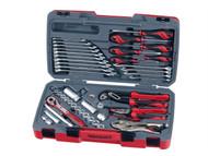 Teng TENT3848 - T3848 Socket & Tool Set of 48 Metric & AF 3/8in Drive