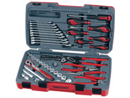 Teng TENT3867 - T3867 Tool Set of 67 3/8in Drive