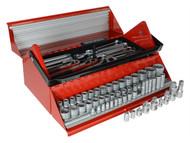Teng TENTC187 - TC187 Mega Rosso Tool Kit Set of 187 1/4, 3/8 & 1/2in