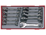 Teng TENTT6010M - TT6010M 10 Piece Midget Combination Spanner Set Metric