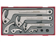 Teng TENTTHP08 - TTHP08 8 Piece Hook & Pin Wrench Set