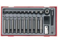Teng TENTTTX23 - TTTX23 23 Piece TX Bit Socket Set