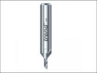 Trend TRE21014HS - 2/10 x 1/4 HSS Single Flute Cutter 2.0 x 5.0mm
