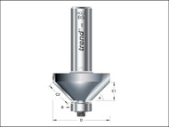 Trend TRE4636012TC - 46/360 x 1/2 TCT Bearing Guided Chamfer 45ŒÍŒ'ŒÍŒîŒÍí¢ŒÍŒ¢ŒÍŒ'í_í_ŒÍŒ'í_Œ 35.1 x 12mm