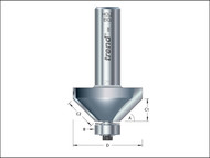Trend TRE463812TC - 46/38 x 1/2 TCT Bearing Guided Chamfer 45ŒÍŒ'ŒÍŒîŒÍí¢ŒÍŒ¢ŒÍŒ'í_í_ŒÍŒ'í_Œ 51.5 x 19mm