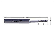 Trend TRE50198HSE - 50/19 x 8mm HSSE Steele Helical Plunge Bit 5 mm