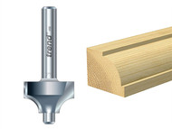 Trend TRE7D314TC - 7D/3 x 1/4 TCT Pin Guided Ovolo 9.5mm Radius