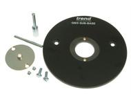 Trend TREGB5 - GB5 Sub Base C/W Bush & 2 Pins