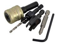 Trend TRESNAPPC10S - SNAP/PC10/Set Plug Cutter No10 Screw Set