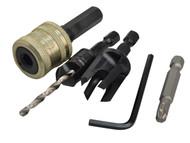 Trend TRESNAPPC12S - SNAP/PC12/Set Plug Cutter No12 Screw Set