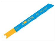 Ultra ULT8615 - 8615-HSS Jigsaw Blades Card of 5 Metal A5039
