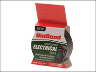 Unibond UNI1400472 - Electrical Tape Black 19mm x 10m
