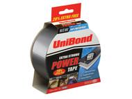 Unibond UNI1418423 - Powertape Silver 50mm x 25m + 20% free