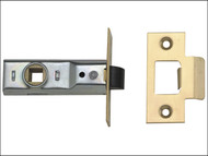 UNION UNNJ2648PL25 - Tubular Mortice Latch 2648 Polished Brass 64mm 2.5in Box