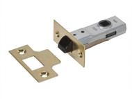 UNION UNNY2600PL25 - Y2600 Tubular Latch Essentials Polished Brass Finish 65mm 2.5in Visi
