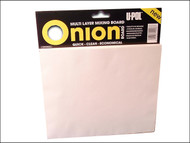 U-Pol UPOON1 - Onion Board Multi Layer Mixing Pallette 1 Pack (100 Sheets)