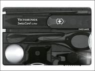 Victorinox VICJELSWCLON - Swiss Card Lite Translucent Onyx 07333T3