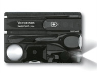 Victorinox VICJSWCLONB - Swiss Card Lite Translucent Onyx Blister Pack