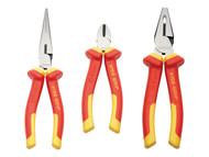 IRWIN Vise-Grip VIS10505519 - Pliers VDE Set 3 Piece