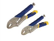 IRWIN Vise-Grip VIST214T - Fast Release Locking Pliers 7WR & 10WR Set of 2